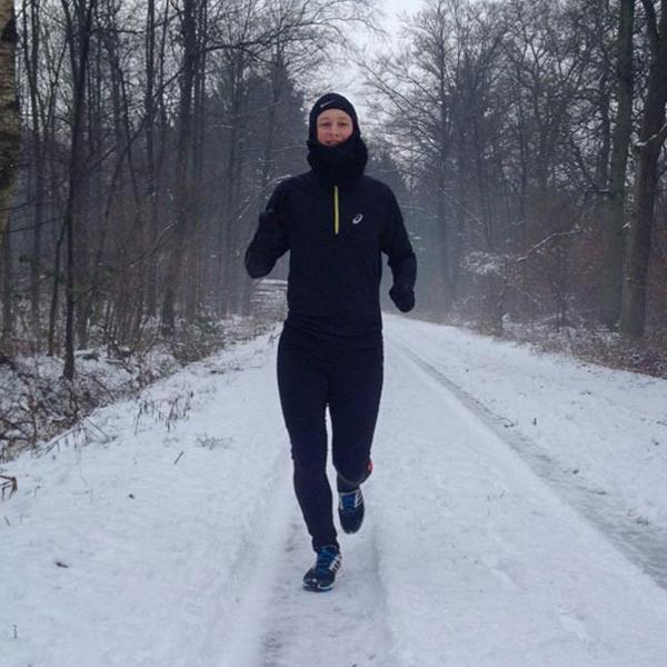 Joggen im Winter - B2Run #gemeinsamaktiv